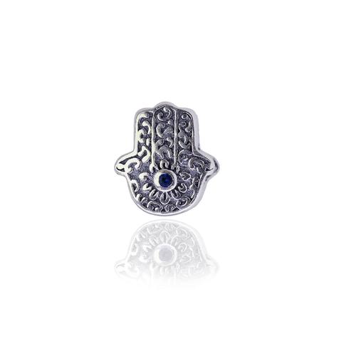 CH1000133---Charm-Hamsa-com-Zirconia-Azul-em-Prata-Oxidada