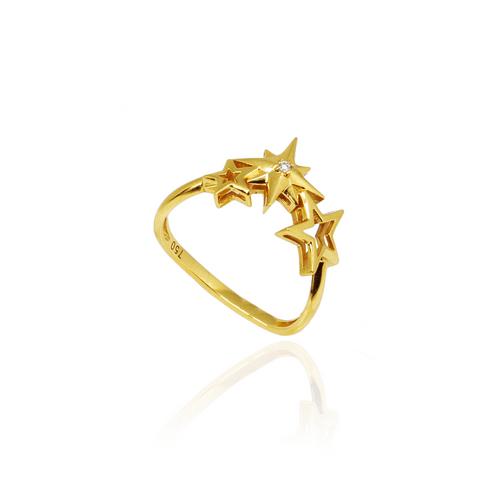 AN2000005---Anel-Estrelas-Up-com-diamante-em-Ouro