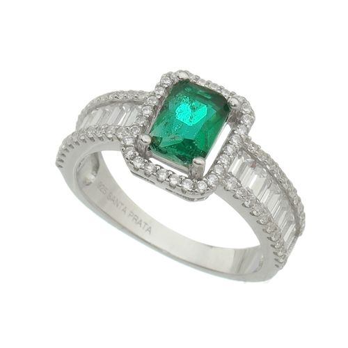 Anel-Delicata-Cravejada-com-Cristal-com-Pedra-Verde-