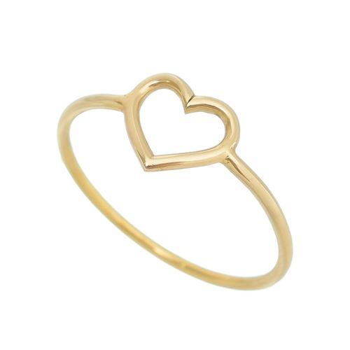 Anel-Coracao-Pequeno-em-Ouro--|-Pura-Vida-Gold