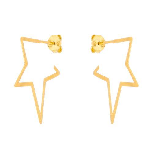 Brinco-Estrela--em-Ouro-|-Colecao-Star