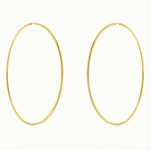 Brinco-Argola-Grande-50mm-em-Prata-com-Banho-de-Ouro-