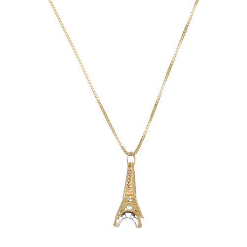 Pingente-Torre-Eifel-em-Ouro-|-Colecao-Moments