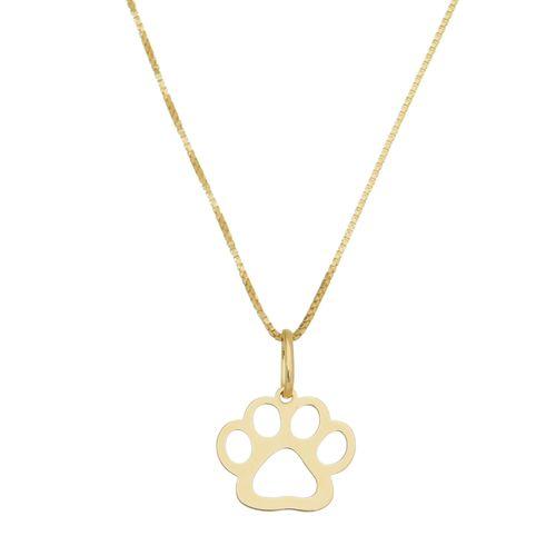 Pingente-Patinha-de-Cachorro-em-Prata-com-Banho-de-Ouro