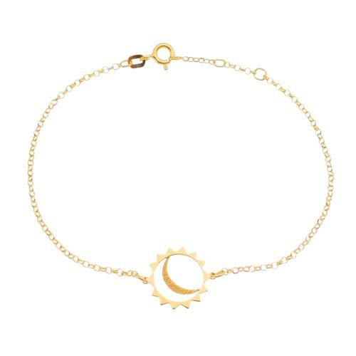 Pulseira-Estrela-e-Lua-Prata-Banho-Ouro-PU6000004-|Colecao-Pura-Vida