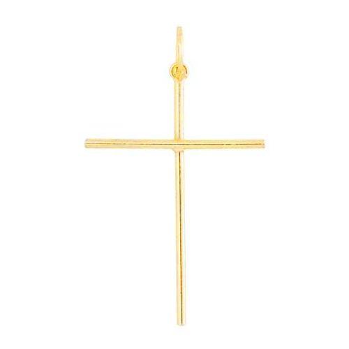 PI2000068PingenteCruzOuroCrucifixo