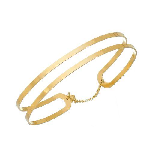 Bracelete-em-Prata-com-Banho-de-Ouro-|-Colecao-Pura-Vida