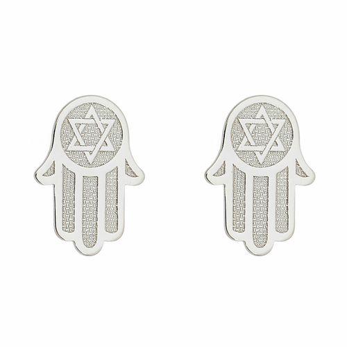 Brinco-Mao-Judaica-em-Prata-com-Rodio--|Colecao-Fe