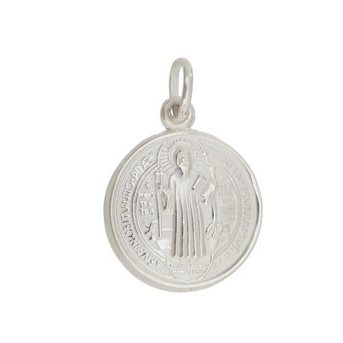 Pingente-Medalha-de-Sao-Bento-em-Prata--|-Colecao-Fe