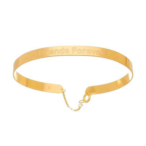 Bracelete-Friends-Forever-em-Prata-com-Banho-de-Ouro-|-Colecao-Pura-Vida