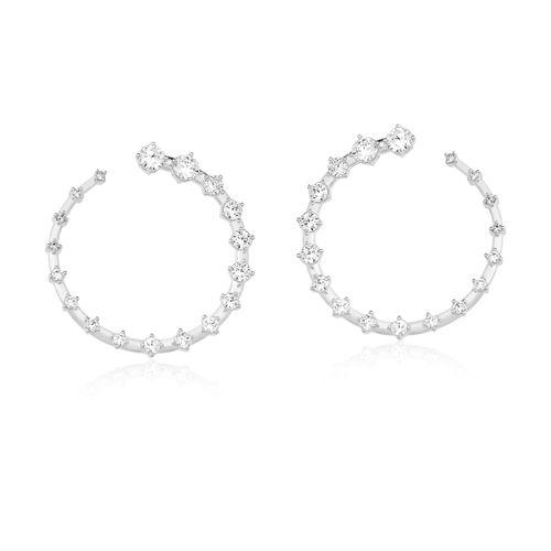 Brinco-Argola-Sparkler-com-Zirconias-Brancas-em-Prata-|-Colecao-Argolas