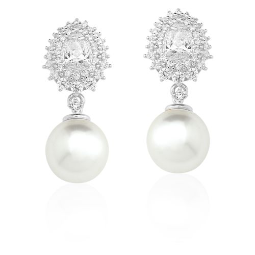 Brinco-Pendurado-com-Cristal-e-Zirconias-Brancas-e-Perola-em-Prata-com-Rodio-|-Colecao-Bridal