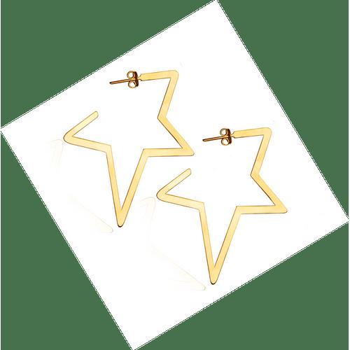 Brinco-Estrela--Grande-em-Ouro-|-Colecao-Star