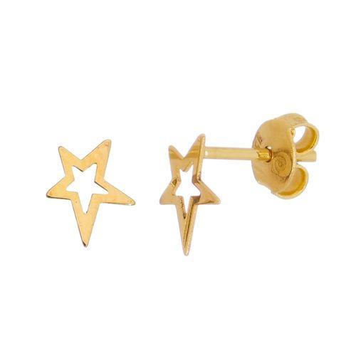 Brinco-Estrela-em-Ouro-18K