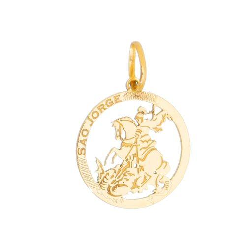 Medalha-Sao-Jorge-em-Ouro-18K-
