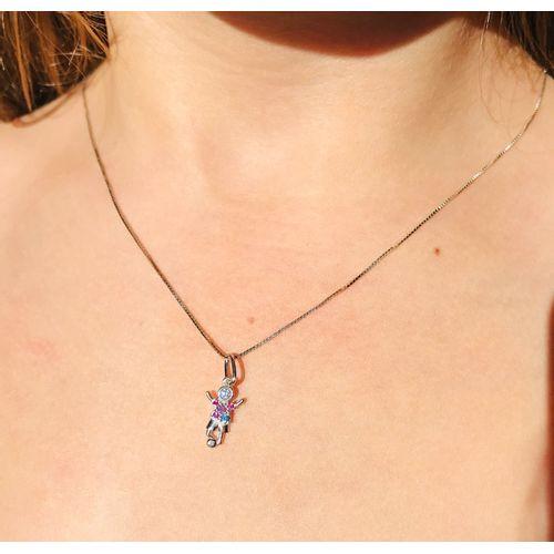 Pingente-Menino-com-Zirconias-Azul-Pink-e-Roxa-em-Prata-e-Rodio