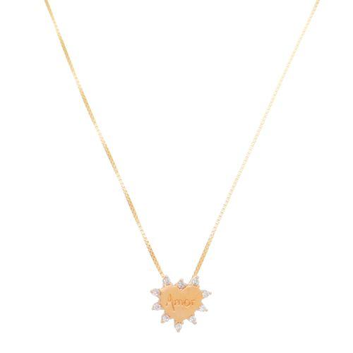 Gargantilha-Coracao-Love-com-Zirconias-em-Prata-e-Banho-de-Ouro