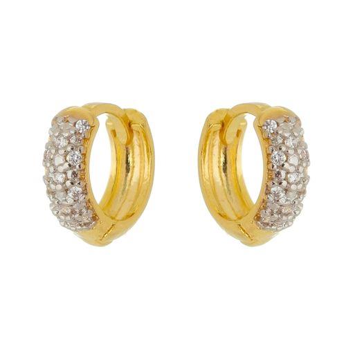 Brinco-Argola-com-zirconias-em-prata-com-Banho-de-Ouro
