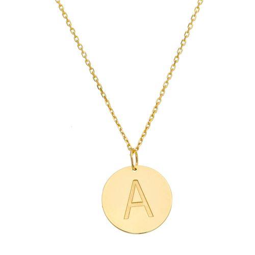 Gargantilha-Letra-A-Corrente-Cartier-em-Prata-com-Banho-de-Ouro-Colecao-Personalize-Colecao-Personalize-