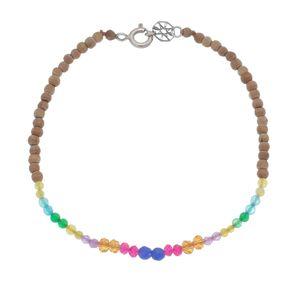 Pulseira-Multi-cores-Pura-Vida-com-pedras-naturais-e-sandalo-e-Prata