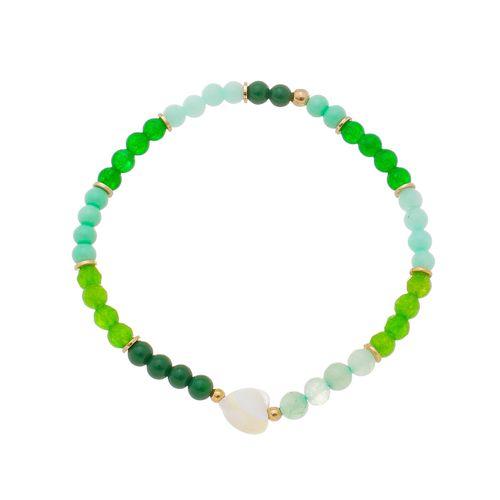 Pulseira-Colors-Tons-de-Verde-e-Coracao-em-Madreperola