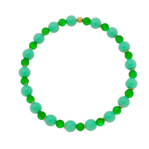 Pulseira-Colors-Cristal-Natural-Verdes-e-Detalhes-em-Banho-de-Ouro