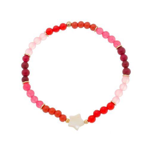 Pulseira-Colors-Tons-de-Vermelho-e-Estrela-em-Madreperola