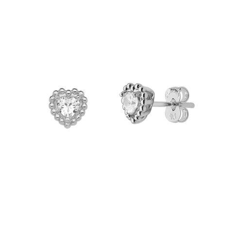 Brinco-Coracao-com-Bolinhas-e-Cristal-Branco-em-Prata