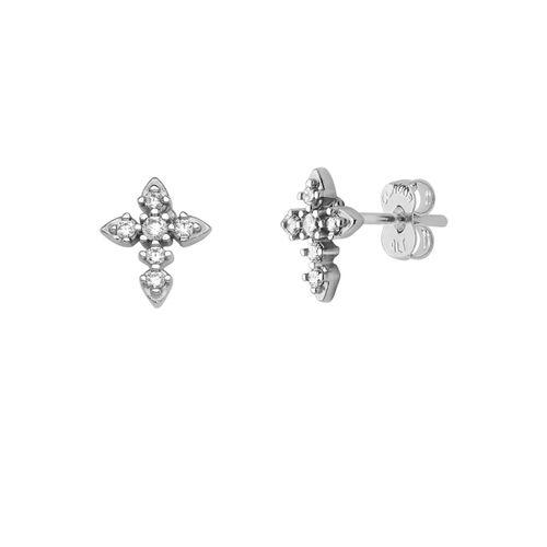 Brinco-Cruz-com-Zirconias-Brancas-em-Prata-|-Colecao-Fe