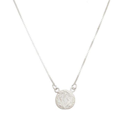 Gargantilha-Medalha-Sao-Bento-em-Prata-e-Rodio